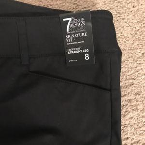 Express Pants - Express Black Crop Pants